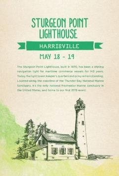 Sturgeon Point Lighthouse Clean-up Event Flier